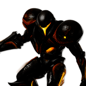 SSBU Dark Samus Alternative Costume 7