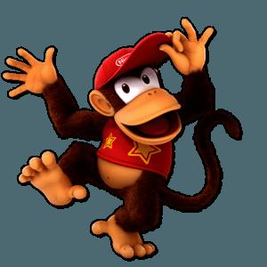 SSBU Diddy Kong Alternative Costume 1
