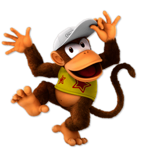 SSBU Diddy Kong Alternative Costume 2