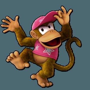 SSBU Diddy Kong Alternative Costume 3