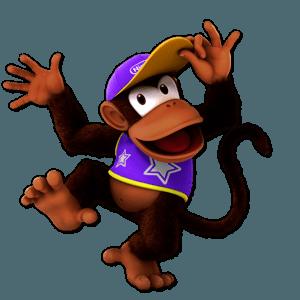 SSBU Diddy Kong Alternative Costume 4