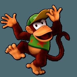 SSBU Diddy Kong Alternative Costume 5