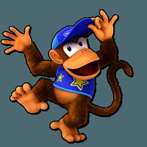 SSBU Diddy Kong Alternative Costume 6