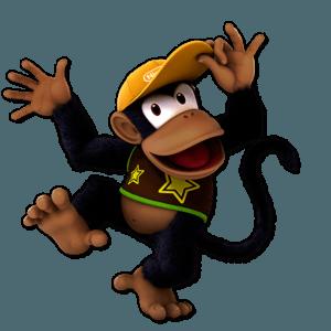 SSBU Diddy Kong Alternative Costume 7