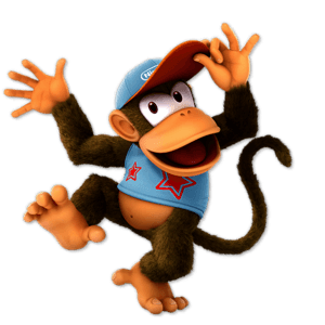 SSBU Diddy Kong Alternative Costume 8