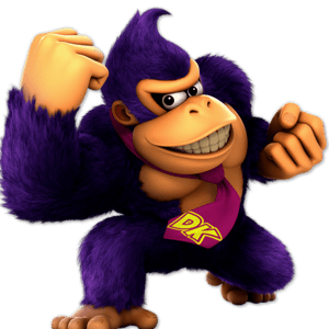 SSBU Donkey Kong Alternative Costume 4