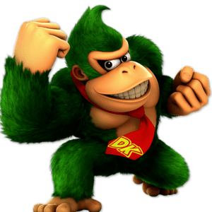 SSBU Donkey Kong Alternative Costume 5