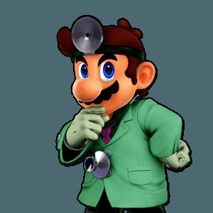 SSBU Dr. Mario Alternative Costume 4