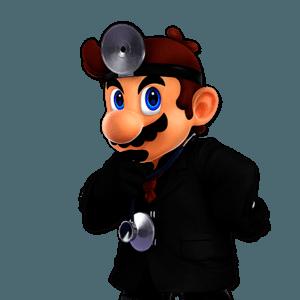 SSBU Dr. Mario Alternative Costume 5