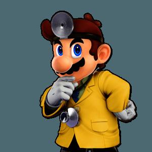 SSBU Dr. Mario Alternative Costume 6