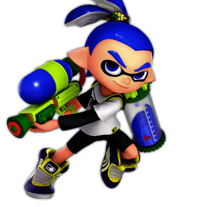 SSBU Inkling Alternative Costume 2
