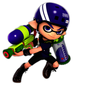 SSBU Inkling Alternative Costume 8
