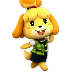 SSBU Isabelle Alternative Costume 1