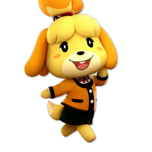 SSBU Isabelle Alternative Costume 2
