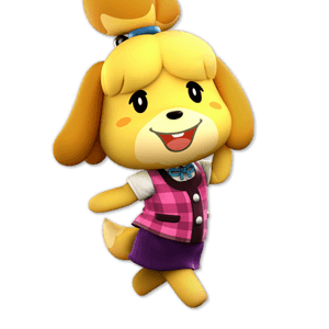 SSBU Isabelle Alternative Costume 3