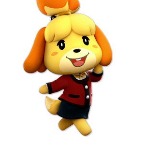 SSBU Isabelle Alternative Costume 4