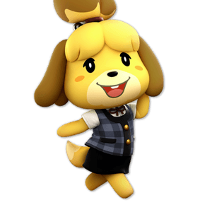 SSBU Isabelle Alternative Costume 7
