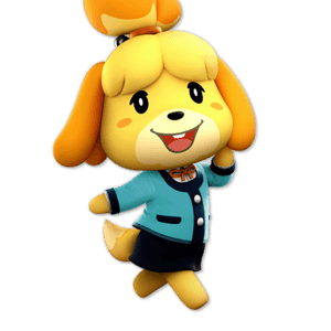 SSBU Isabelle Alternative Costume 8