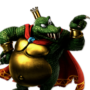 SSBU King K. Rool Alternative Costume 1