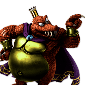 SSBU King K. Rool Alternative Costume 2
