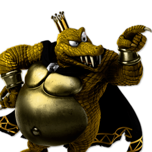SSBU King K. Rool Alternative Costume 4