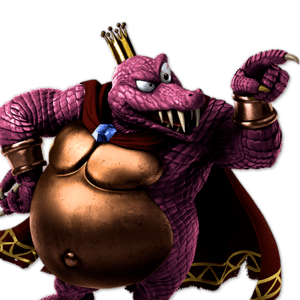 SSBU King K. Rool Alternative Costume 5