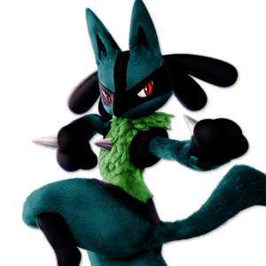 SSBU Lucario Alternative Costume 5