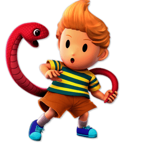 SSBU Lucas Alternative Costume 2