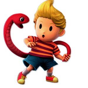 SSBU Lucas Alternative Costume 4