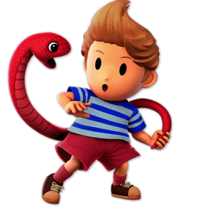 SSBU Lucas Alternative Costume 6