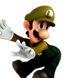 SSBU Luigi Alternative Costume 8