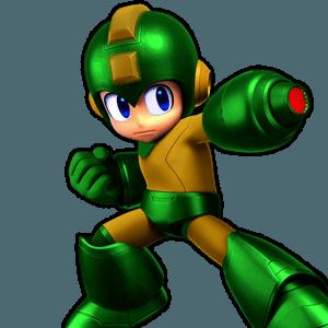 SSBU Mega Man Alternative Costume 6