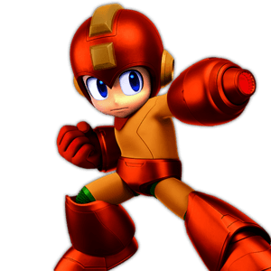 SSBU Mega Man Alternative Costume 7