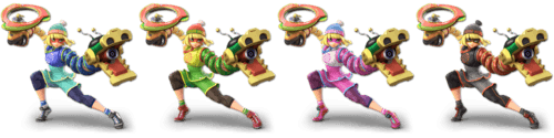SSBU Min Min Alternative Costume 2