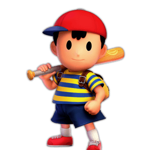 SSBU Ness Alternative Costume 1