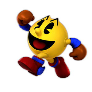 SSBU Pac Man Alternative Costume 2