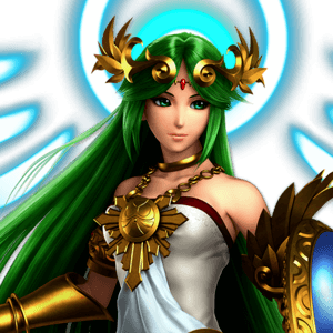 SSBU Palutena Alternative Costume 1