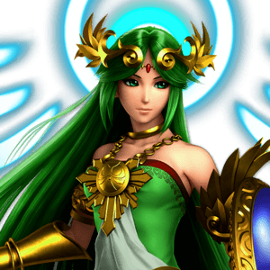 SSBU Palutena Alternative Costume 4