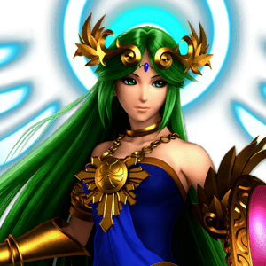 SSBU Palutena Alternative Costume 5