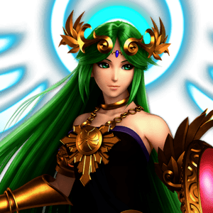 SSBU Palutena Alternative Costume 8
