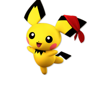 SSBU Pichu Alternative Costume 3