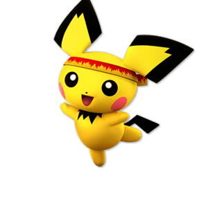 SSBU Pichu Alternative Costume 8