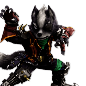 SSBU Wolf Alternative Costume 2