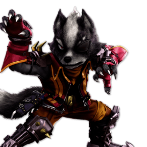 SSBU Wolf Alternative Costume 3
