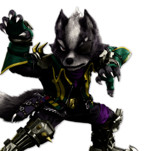 SSBU Wolf Alternative Costume 5