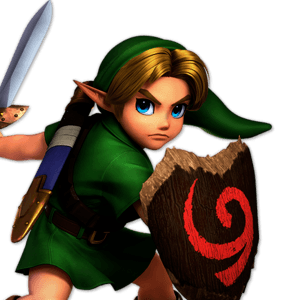 SSBU Young Link Alternative Costume 1