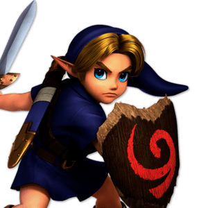 SSBU Young Link Alternative Costume 3