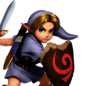 SSBU Young Link Alternative Costume 4