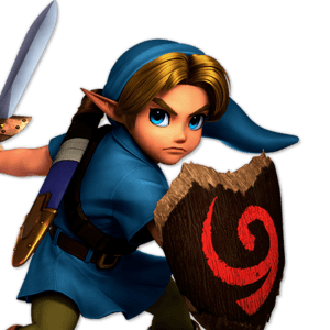 SSBU Young Link Alternative Costume 6