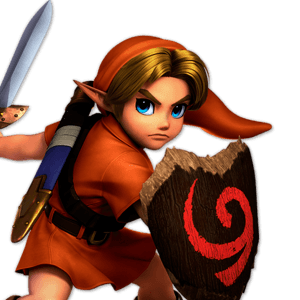 SSBU Young Link Alternative Costume 7